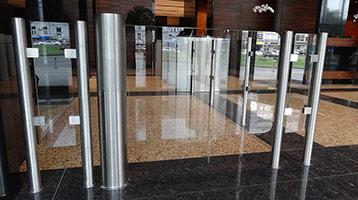 Glass Gate Turnstiles